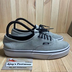 Vans Authentic Gray Off The Wall Skate Shoes